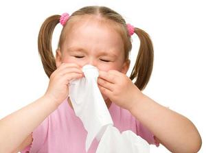 Crianças não devem usar descongestionante nasal